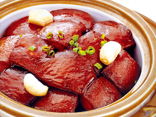 Maojia Braised Pork in Brown Sauce